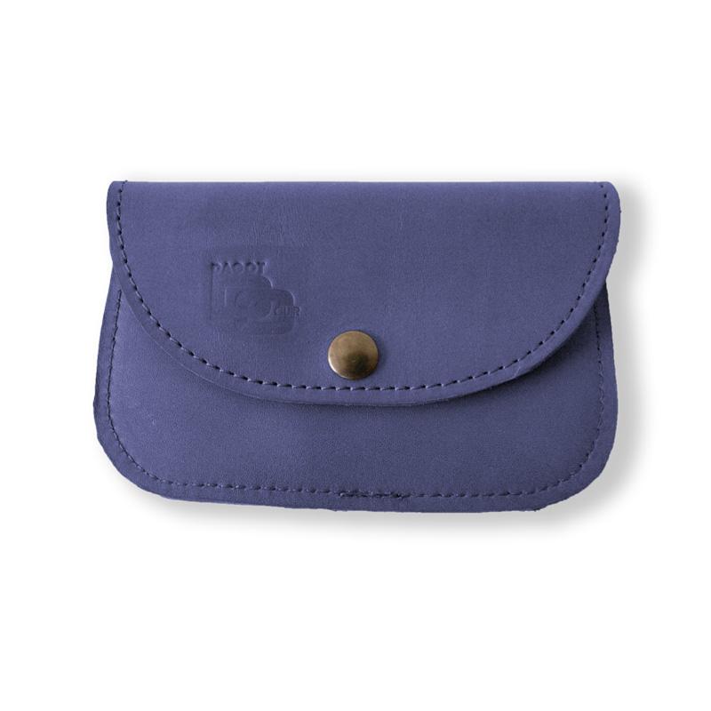 Visuel du porte-monnaie soft bleu jean