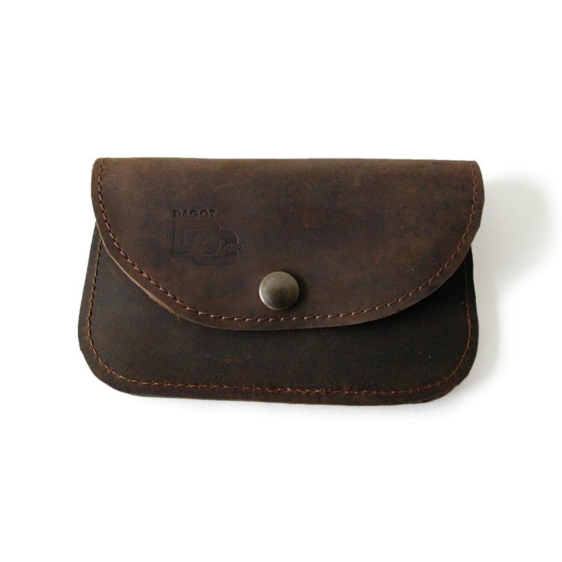 Visuel du porte-monnaie soft marron