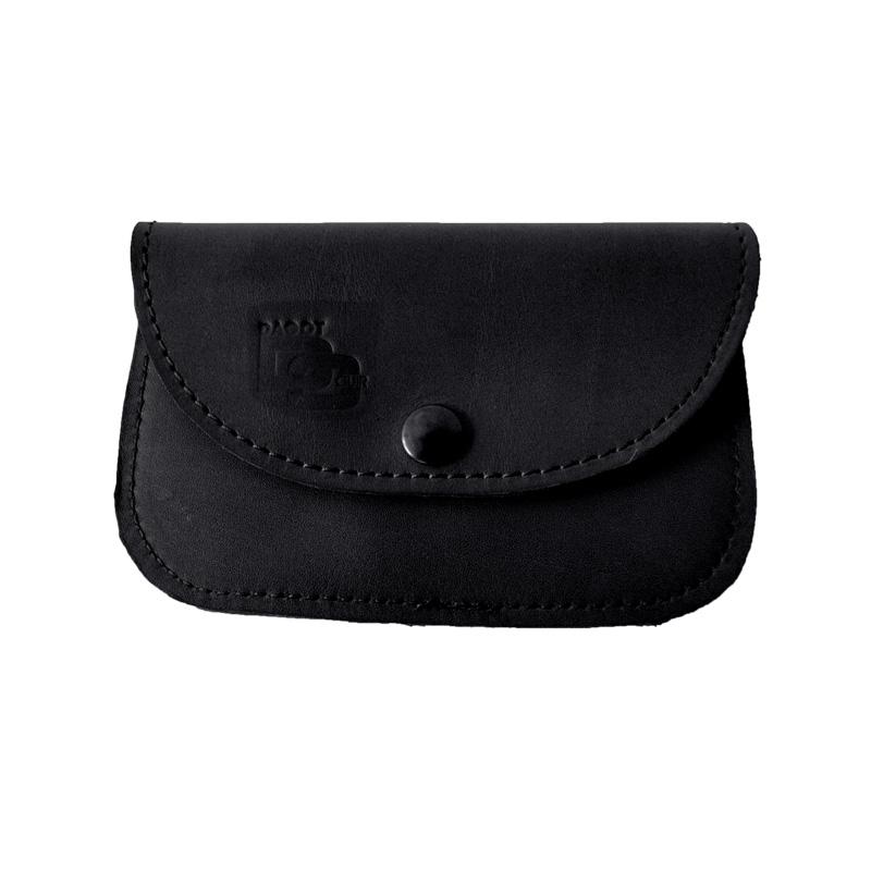 Visuel du porte-monnaie soft noir