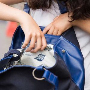 Intérieur du sac cabas