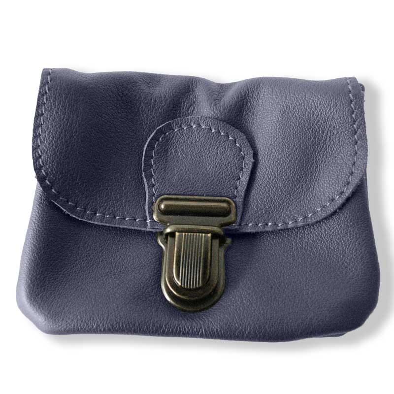 Aperçu du porte monnaie ceinture bleu indigo