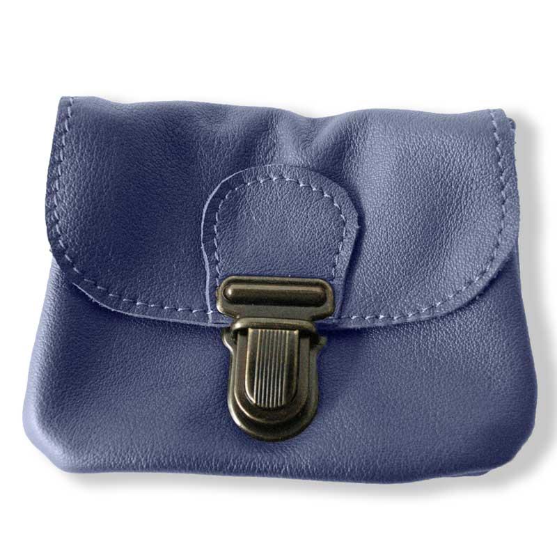 Aperçu du porte monnaie ceinture bleu jean