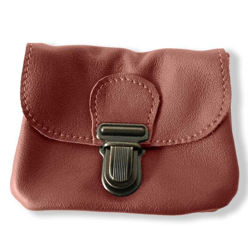 Aperçu du porte monnaie ceinture marron chocolat