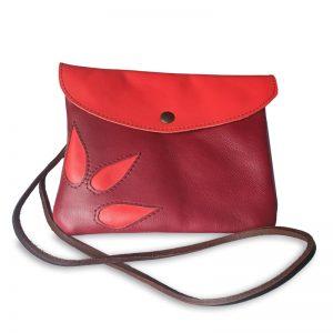 Image du sac pochette magique en cuir
