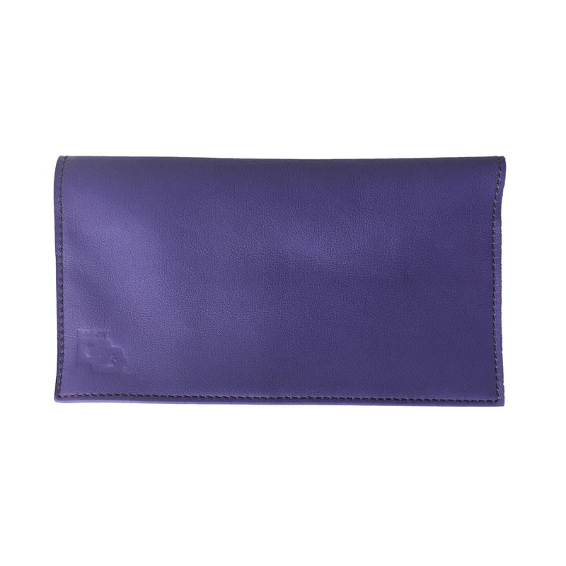 Image du porte-chéquier Chic violet améthyste