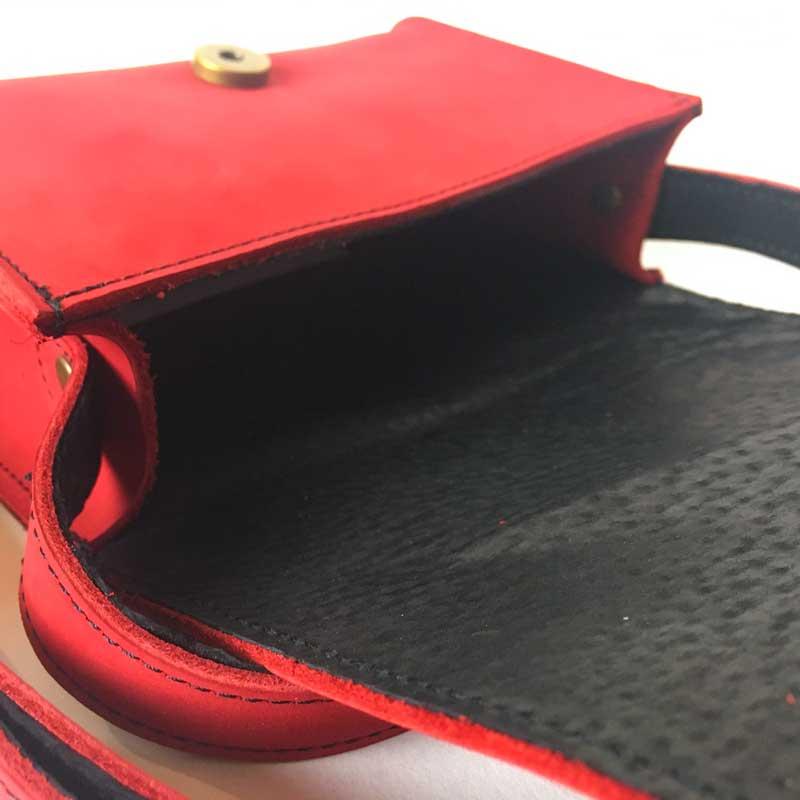 Illustration de l'intérieur de la petite sacoche femme Catimini