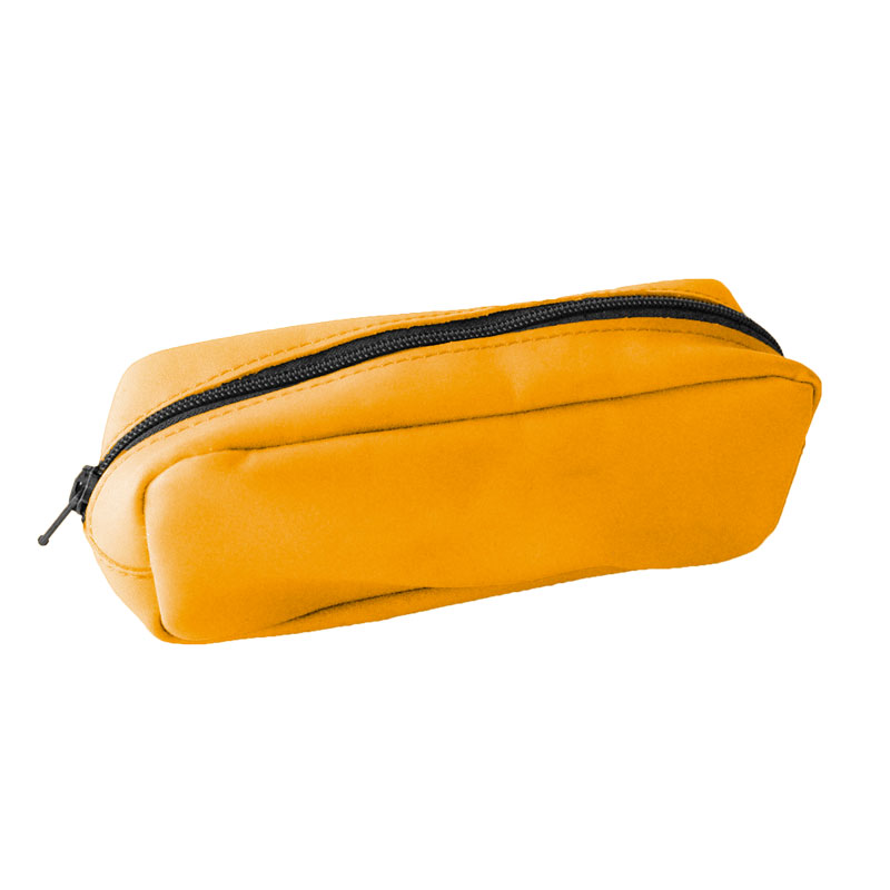 Visualiser la trousse cuir jaune jonquille