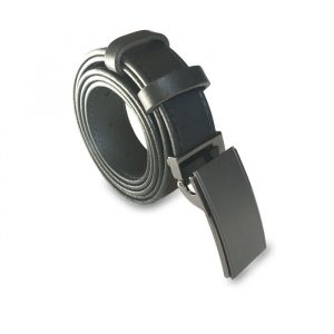 Visuel de la ceinture noire en cuir